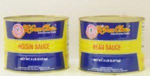 Hoisin Sauce and Bean Sauce