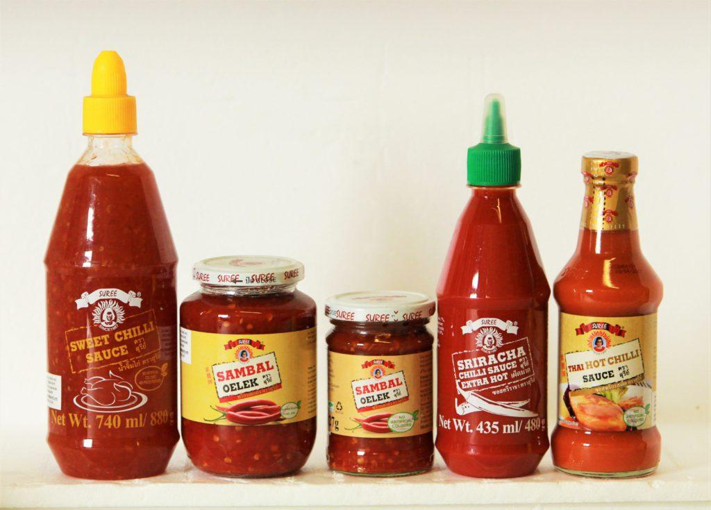 Suree Sweet Chilli And Chili Sauce Range Dingho