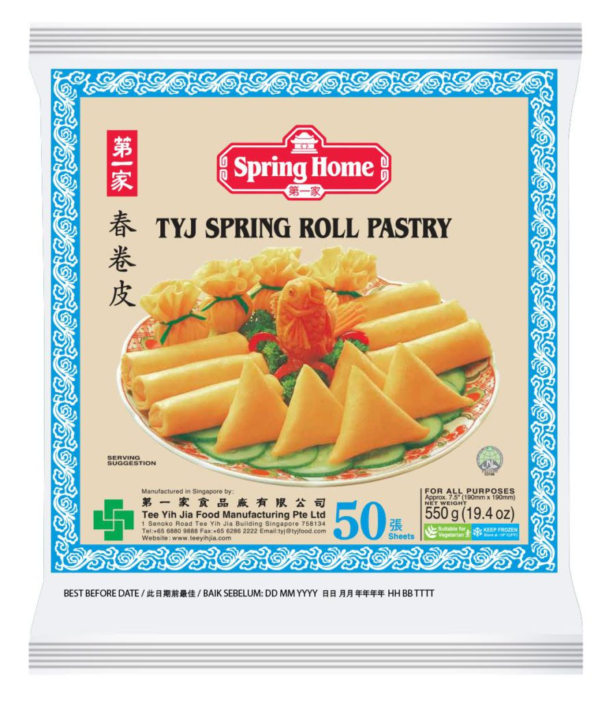 spring home tyj spring roll pastry 75″x50 sheets  dingho